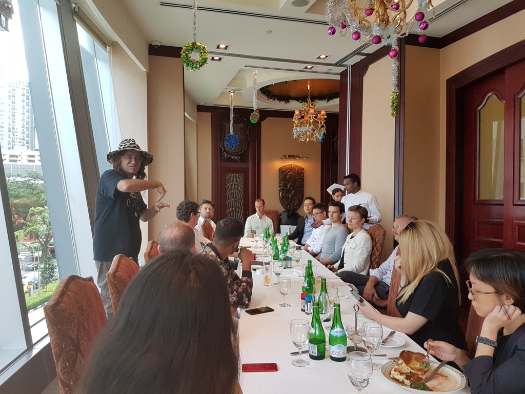 Executive Lunch with Dr. Ben Goertzel